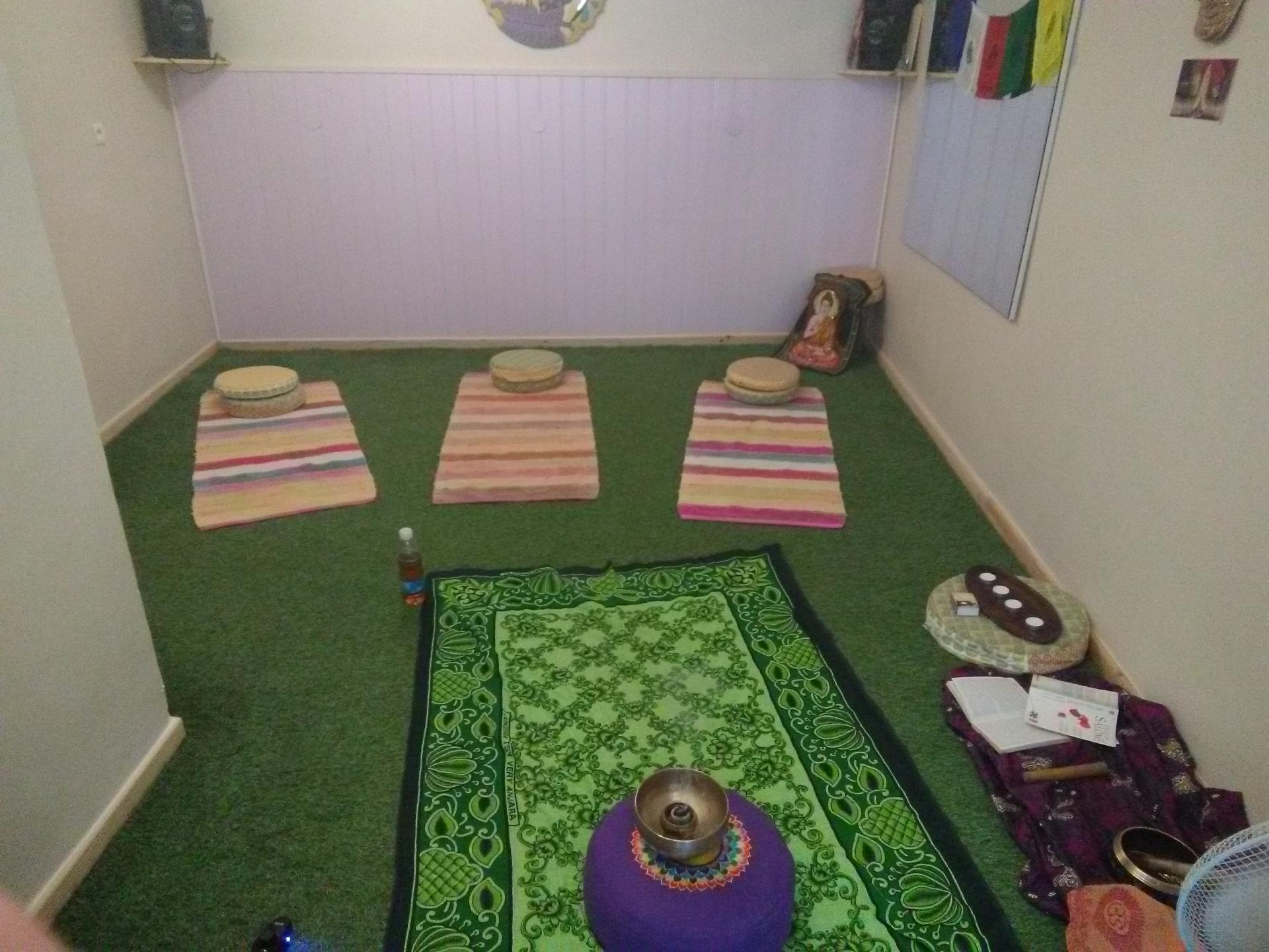 Préparation atelier yoga ...