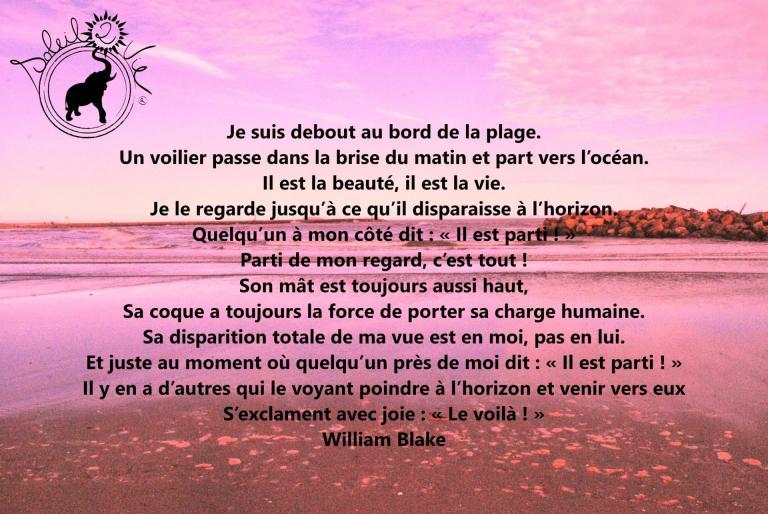 Le Voilier - Willian Blake -  Soleil2vie