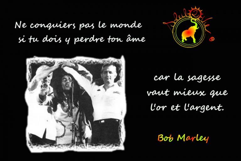 Sagesse - Bob Marley par Soelil2vie ®