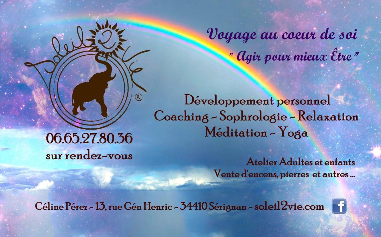 Soleil2vie - Voyage au cœur de soi - Agir pour Mieux-Être