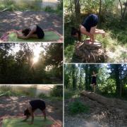 Yoga au cœur de mère nature