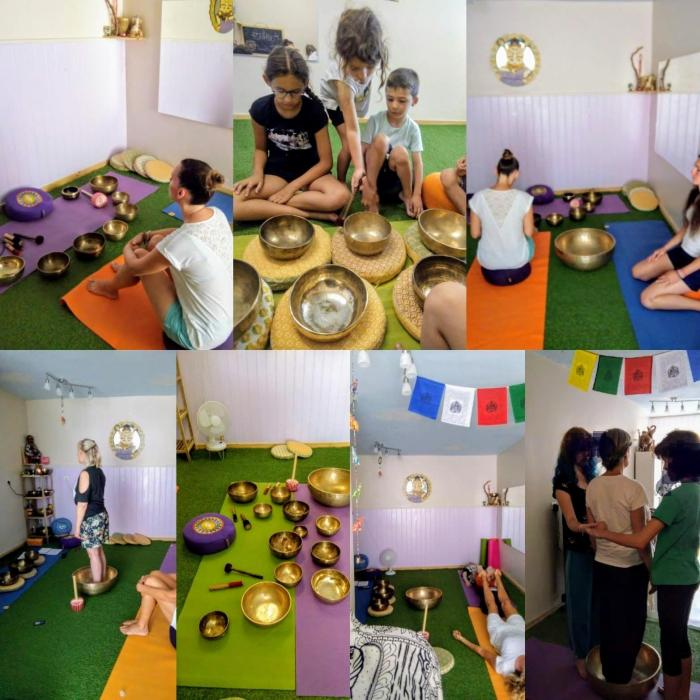 Les bols tibétains - découvertes, voyage sonore, ancrage, méditation