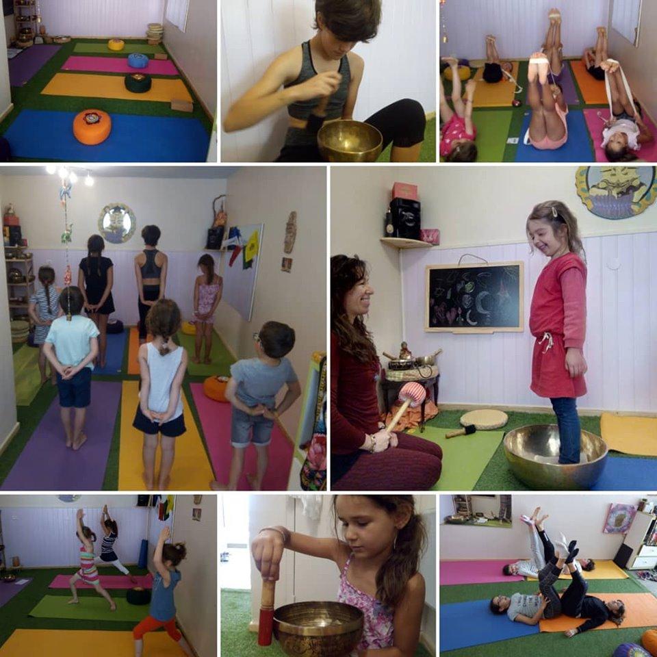 Sophrologie et Yoga enfants