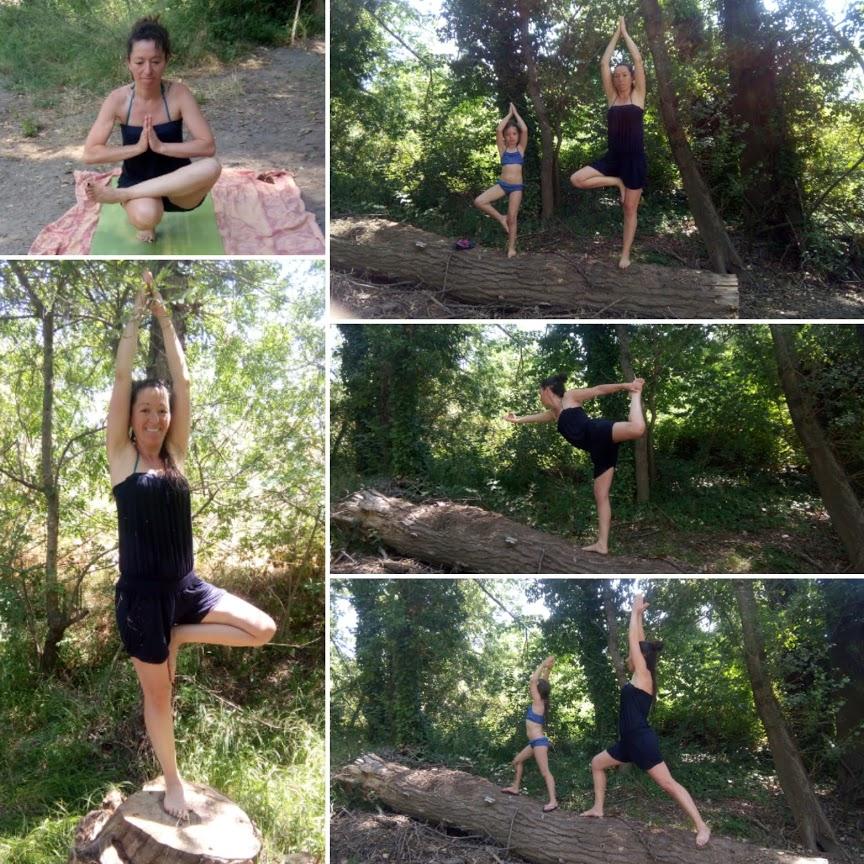 Pratique de Yoga au coeur de la nature