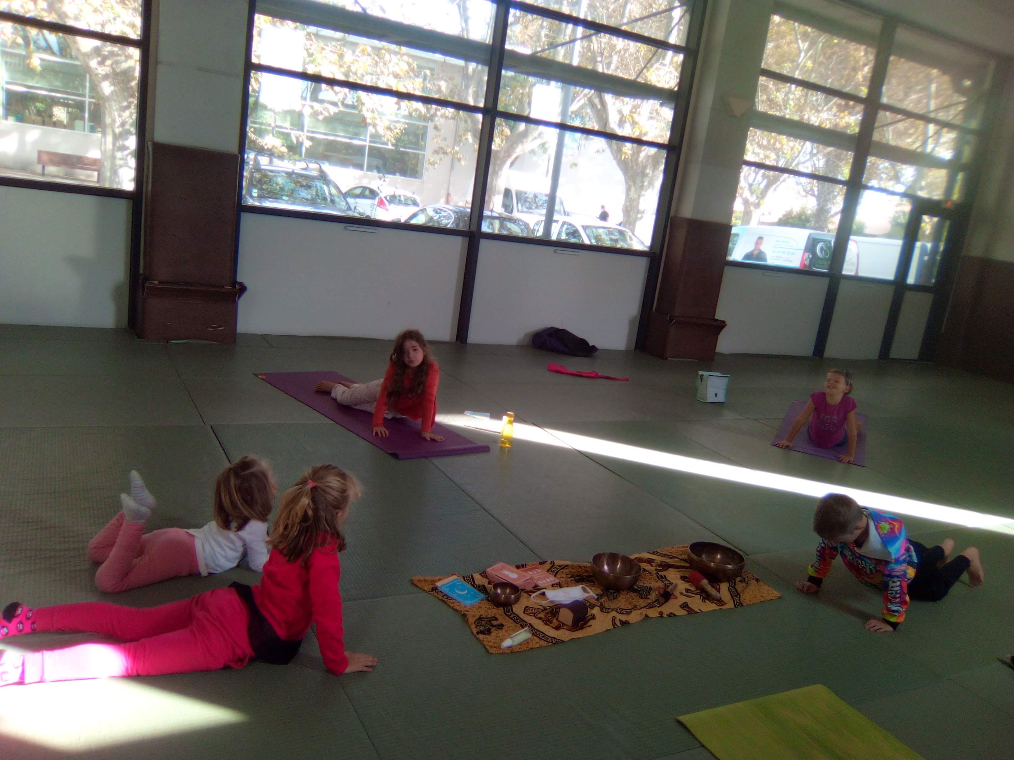 Sophro Yoga enfant - Un voyage au cœur de soi - Sérignan