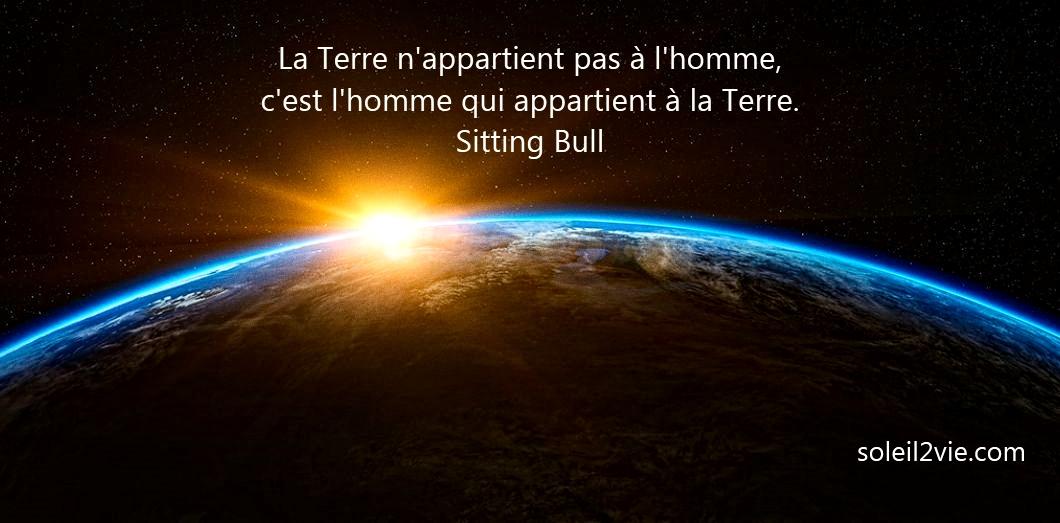 Sitting Bull - La Terre - Soleil2vie