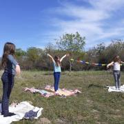 Yoga nature enfants