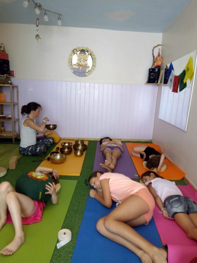 Courte relaxation enfants au bols tibétains
